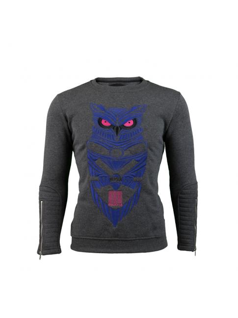 Sweatshirt Embroided Owl